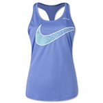 Nike Women's Soccer Graphic Tank (Blue)