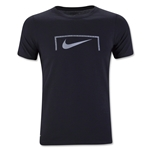 Nike Swoosh Youth Goal T-Shirt (Black)