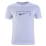 Nike Swoosh Youth Goal T-Shirt (White)