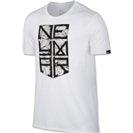Nike Neymar Logo Youth NJR T-Shirt (White)