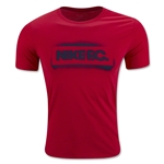 Nike FC Stencil Block T-Shirt (Red)