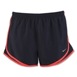 Nike Women's Tempo Short 16 (Black/Red)