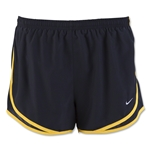 Nike Women's Tempo Short 16 (Black/Yellow)