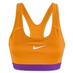 Nike Women's Pro Classic Bra (Orange)