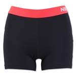 Nike Women's Pro 3 Cool Short (Black/Red)