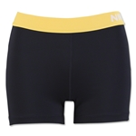 Nike Women's Pro 3 Cool Short (Black/Yellow)