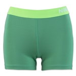 Nike Women's Pro 3 Cool Short (Green)