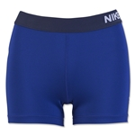 Nike Women's Pro 3 Cool Short (Royal Blue)