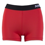 Nike Women's Pro 3 Cool Short (Red)