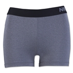 Nike Women's Pro 3 Cool Short (Sv/Black)