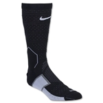 Nike Elite Match Fit Mercurial Football Crew Sock (Black/White)