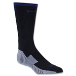 Nike Stadium Football Crew 16 Sock (Black/Royal)