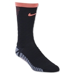 Nike Strike Tiempo Crew Sock (Black/Orange)
