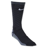 Nike Strike Tiempo Crew Sock (Black/Gray)