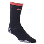Nike Nikegrip Strike Cushioned Football Crew Sock (Black/Red)