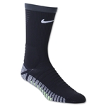 Nike Nikegrip Strike Cushioned Football Crew Sock (Black/Gray)
