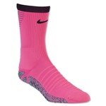 Nike Nikegrip Strike Cushioned Football Crew Sock (Neon Pink)