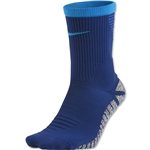 Nike Nikegrip Strike Cushioned Football Crew Sock (Royal Blue)