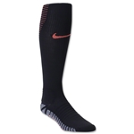 Nike Nikegrip Strike Cushioned Football OTC Sock (Black/Orange)