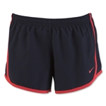 Nike Girls 3.5 Tempo Short 16 (Black/Red)
