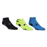 Under Armour HeatGear No Show 3 Pack (Neon Yellow)