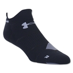 Under Armour Run Launch Double Tab No Show Sock (Black)