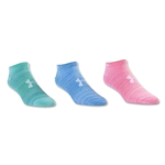 Under Armour Women's Essential Twist No Show Sock 6 Pack