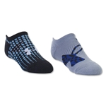 Under Armour Boys UA Next Logo SoLo Sock (Royal Blue)