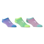 Under Armour Girls Essential Twist No Show Sock 6 Pack