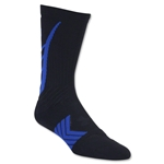 Under Armour Undeniable Crew Sock (Black/Royal)