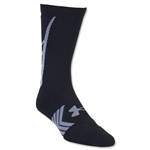 Under Armour Undeniable Crew Sock (Black/Gray)
