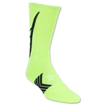Under Armour Undeniable Crew Sock (Neon Yellow)