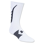 Under Armour Undeniable Crew Sock (Wh/Black)