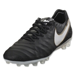 Nike Tiempo Legend VI AG-R (Black/White)
