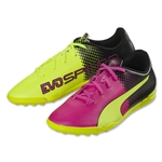 Puma evoSpeed 5.5 Tricks TT Junior (Pink Glo/Safety Yellow)
