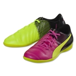 Puma evoPower 4.3 Tricks IT Junior (Pink Glo/Safety Yellow)