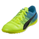 Puma evoPower 4.3 TT Junior (Safety Yellow/Black/Atomic Blue)