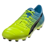 Puma evoPower 1.3 AG (Safety Yellow/Black/Atomic Blue)