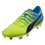 Puma evoPower 3.3 FG (Safety Yellow/Black/Atomic Blue)