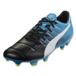 Puma evoPower 3.3 FG (Black/White/Atomic Blue)