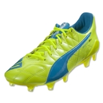 Puma evoSpeed SL Leather FG (Safety Yellow)