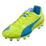 Puma evoSpeed 1.4 Leather FG (Safety Yellow)