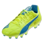 Puma evoSpeed 3.4 Leather FG (Safety Yellow)