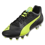 Puma evoSpeed 4.4 FG (Black/Safety Yellow)