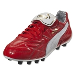 Puma King Top Striped di FG (High Risk Red/White/New Navy)