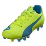Puma evoSpeed 5.4 FG Junior (Safety Yellow)