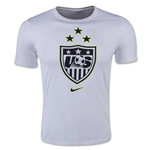 USWNT 2015 3 Star Crest Men's T-Shirt