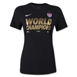 USWNT 2015 World Champions Women's T-Shirt