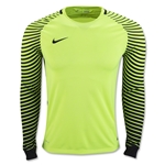 Nike Long Sleeve Gardien Goalkeeper Jersey (Neon Yellow)