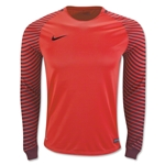 Nike LS Gardien Goalkeeper Jersey (Red)